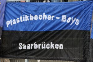 Plastikbecher Boys Saarbrcken